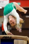 Valparaiso varsity gymnast Allyson Kraft