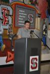 TFS senior speaks at Lansing Historical Society