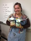 Purdue North Central Student Morgan Hancock of Valparaiso and Her Cowboy Cookie Kits