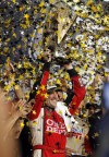 Stewart wins Homestead to win NASCAR championship