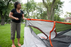 Campout brings friends, families to stay the night at Wicker Park