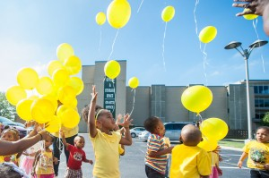 Day care center hosts balloon launch honoring girls killed in crash