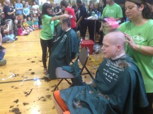 Cooler heads prevail at VU's St. Baldrick's event