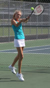 Illiana's Hilary Van Drunen ready to serve