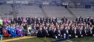 Local high school marching bands net state honors