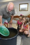 Panning for gold and other goodies