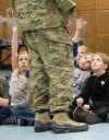Soldier Visits South Haven School