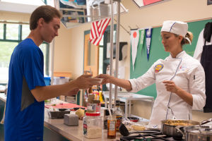 Teachers help students focus on culinary creations