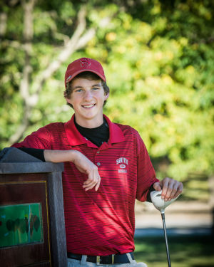 T.F. South golfer Josh Crosby talks about surviving cancer
