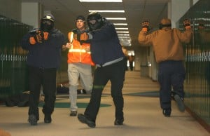 Hostage situations staged; training real