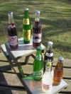 Glass Bottle Buffet