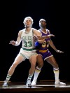 Larry Bird and 'Magic' Johnson end up on Broadway
