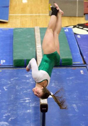 Algozine paces Valparaiso to DAC gymnastics meet crown