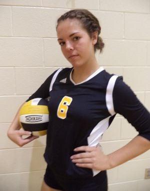 Kouts freshman Hannah Maier