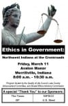 Invitation to Ethics in Government program