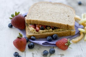 A healthy rethinking of the classic PB&J sandwich