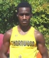 Thornwood runner Reggie Brown
