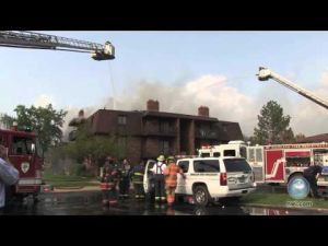 Fire destroys Highland apartments