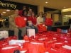 Hobart mall distributes donated Christmas presents to Campagna