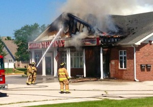 Fire damages Winfield chiropractic clinic