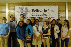 Gavit freshmen take pledge to graduate