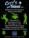 City's Got Talent! Annual production will showcase area high school performers