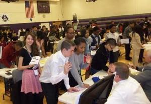 Middle schoolers learn the importance of budgeting