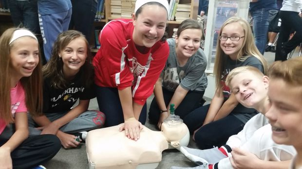 School safer with CPR training