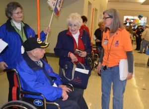 WWII veterans welcomed home in style from Honor Flight trip