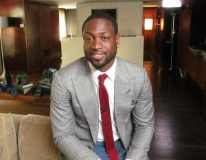 NBA's Dwayne Wade tied-up with new line of neckties launching in Chicago