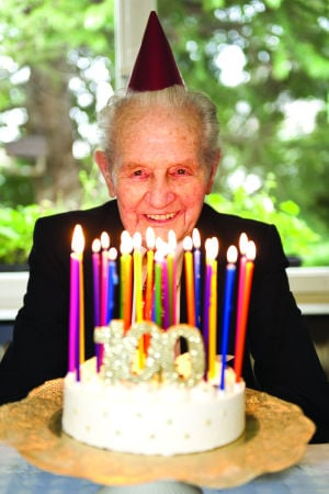 Centenarians: On the rise and proud of it