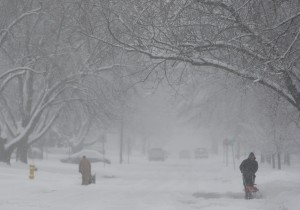 Winter storm blows through region