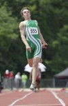 Valpo's Jordan Romanov long jump