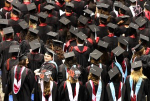 IUN grads revel in their successes at commencement in Gary