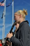 Concert band plays for VA Clinic dedication