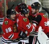 Blackhawks return home, reward fans with win