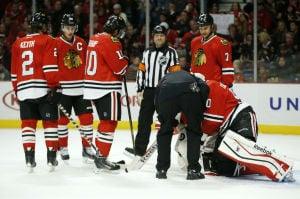 Crawford hurt as Hawks hunt down Panthers