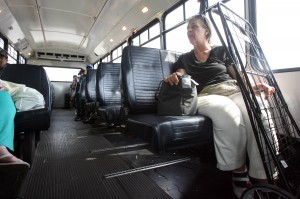 Region's bus experiment breaks down