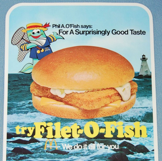 Offbeat happy 50th birthday to mcdonald 39 s filet o fish for Mcdonalds fish fillet
