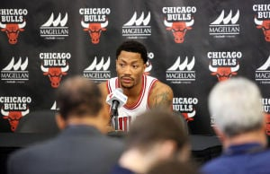 Rose starting 'new journey' with Bulls