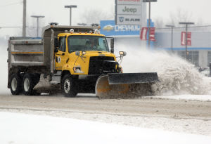 Blast of snow could snarl evening rush