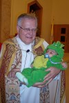 St. Mary's blesses trick-or-treaters