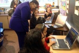 GSA Donates Laptops to Grissom Elementary School