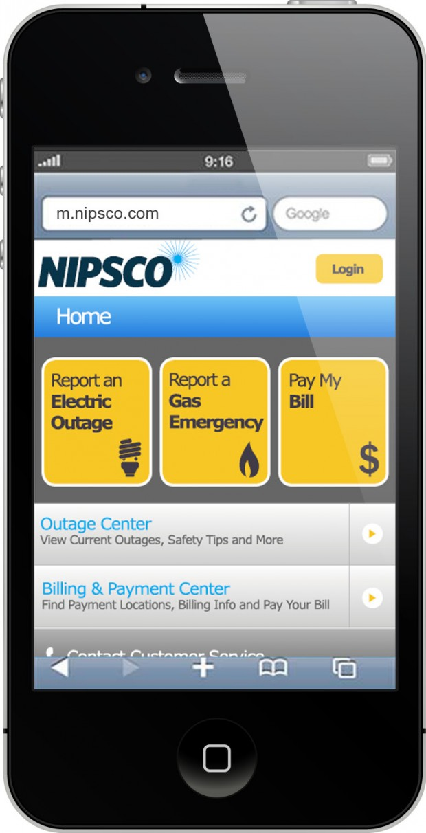 Customers can now report outages, access safety & account ...