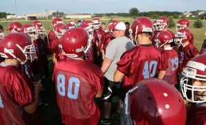 Hanover Central has first football practice in 42 years
