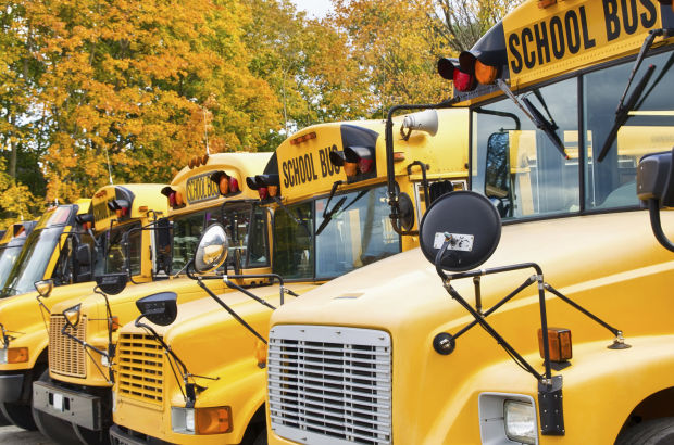 Drivers beware: Buses are back on the road and kids are in the zone