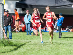 Munster's Tyler Keslin and Ryan Kritzer placed first and third