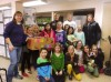 Brownie Girl Scouts hold food drive for Housing Opportunities