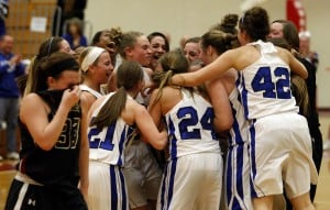 L.C. girls capture sectional with narrow win over Lowell