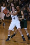 Whiting's Abby Bondi guards Bishop Noll's Julia Kusiak